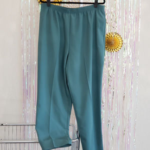 Alia pants, size 16, dusty teal